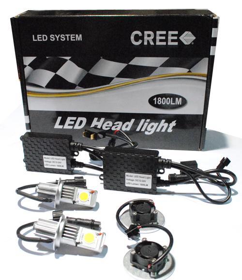 led car cree head lamp kit h7 1800lm 50w x 2pcs jiaxing auto stuff co ltd prlog. Black Bedroom Furniture Sets. Home Design Ideas