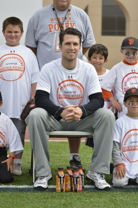 Buster Posey Camp -- credit Rich Yee