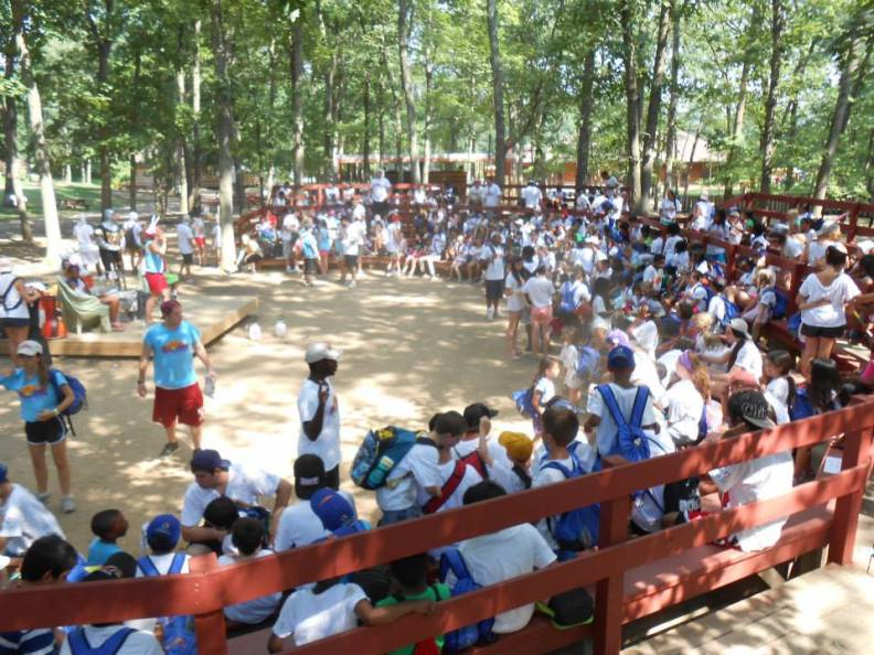 Beat Teams visits Sunrise Day Camp, Wheatley Heights, New York