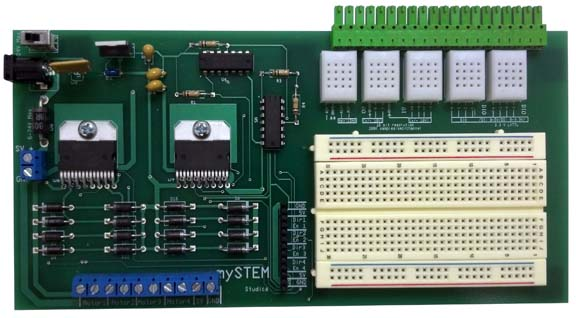 mySTEM Board miniSystem for myDAQ