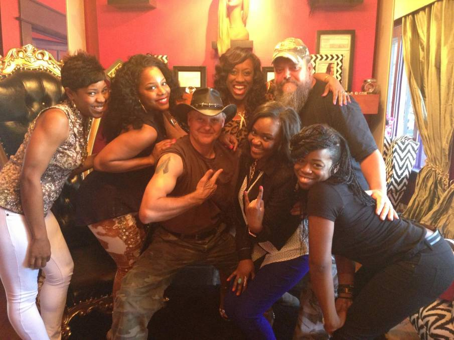 Ladies of Jazzy Girls Beauty Boutique w/ Ernie Brown and Neal James