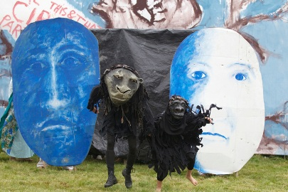 Bread & Puppet Theater's Circus, Summer, 2013