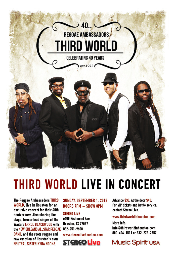 Third World Live in Concert