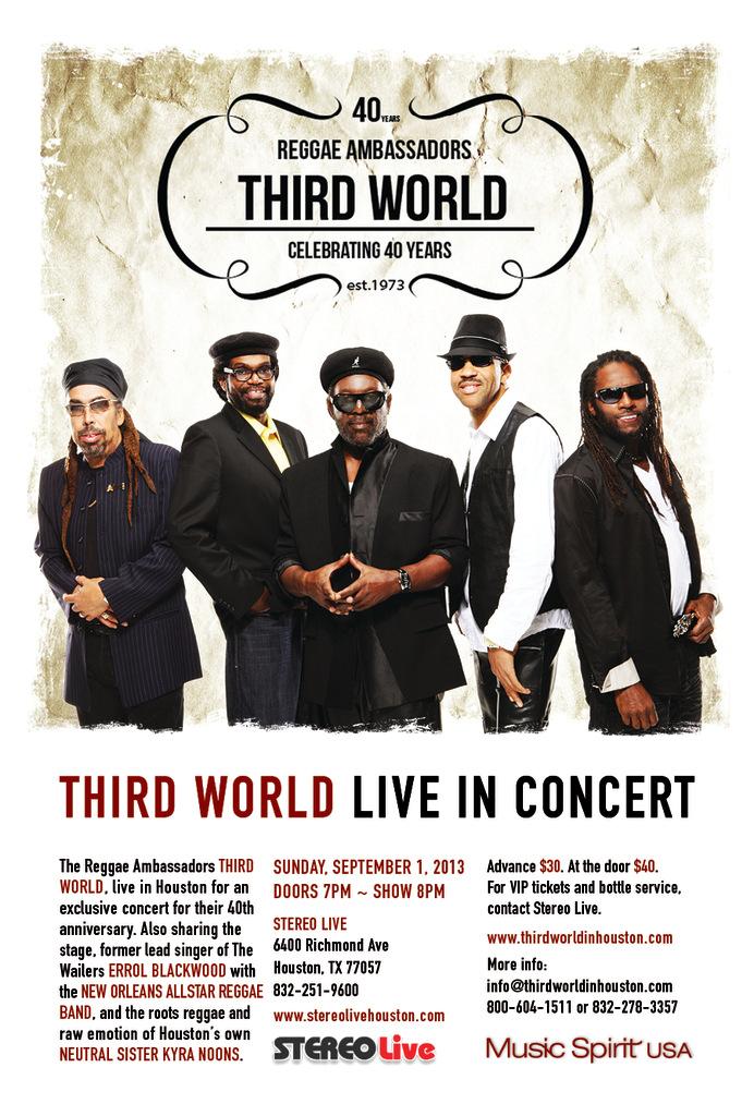 Third World Live in Concert