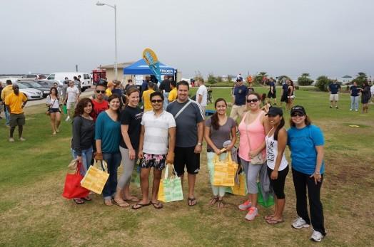 Jurewitz Law Group Beach Cleanup Team