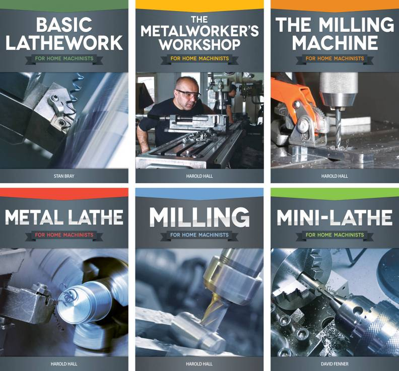 New book series offers valuable information for home shop machinists