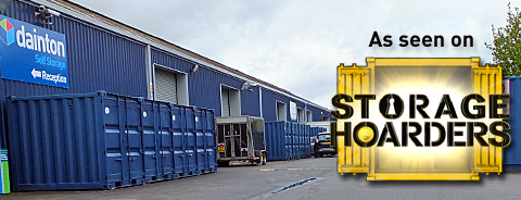 ITV Storage Hoarders Featuring Aggie MacKenzie and Dainton Self Storage