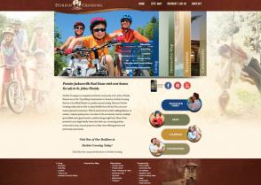 Durbin Crossing website