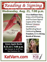 Kathleen Varn Reading Ameera Unveiled at Green Apple Books