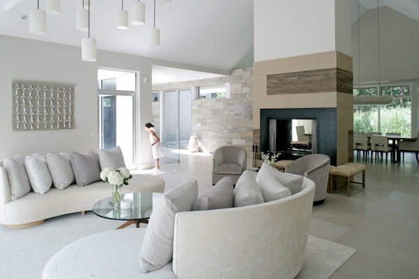 Interior Designs Of New York City Designer Betty Wasserman Hamptons Modern Living Room
