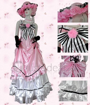 Black Butler Lady Ciel pink cosplay costume