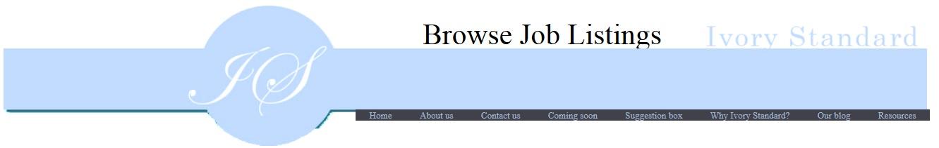 Ivory Standard site banner