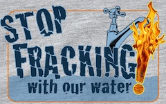 Fracking reportedly can cause tap water to ignite