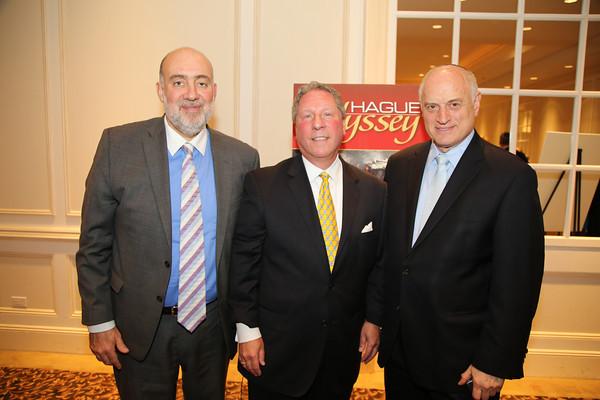 Ambassador Ron Prosor, Richard D. Heideman, Malcolm Hoenlein