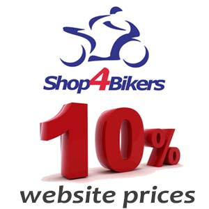 Shop4bikers august offer 10% off website prices