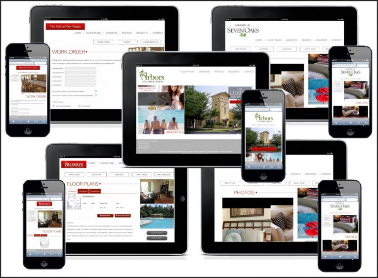The New Responsive Websites of Incore Residential
