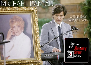 Michael Damian on The Jimmy Star Show August 28th