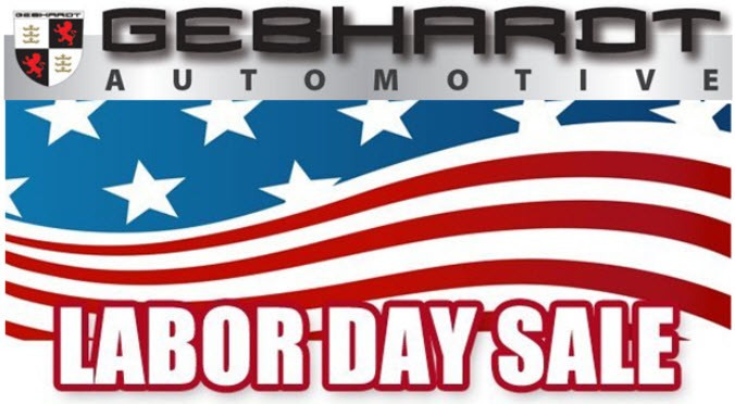 Gebhardt BMW Labor Day Sale - serving Denver, CO
