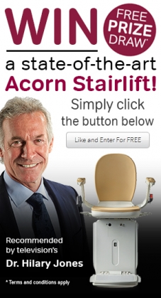 Stairlift Facebook Competition - Free Entry