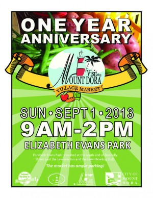 Mount Dora Village Market 1 year anniversary celebration   PRLogdora village