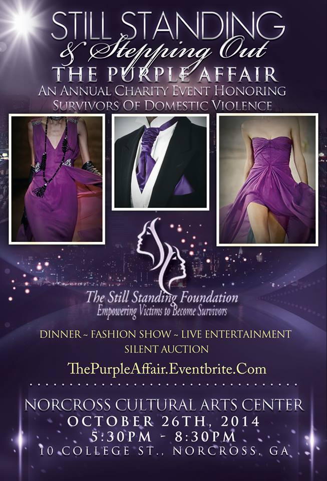 Purple Affair Flyer