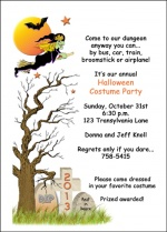 Children Scary Halloween Party Ideas with Spooky Halloween Invites