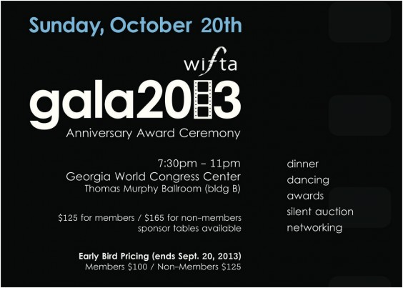2013 WIFTA Gala Fundraiser & Awards Ceremony