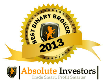 Best Broker of 2013 GMT Options Award