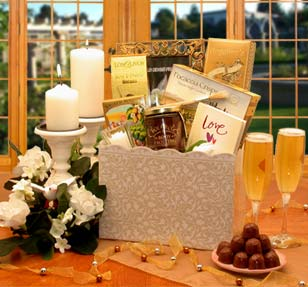 Enchanted Wedding Evening Gift Basket