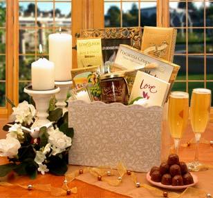 Enchanted Wedding Evening Gift Basket