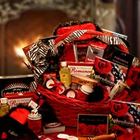 Sensual Couple Night Delights Gift Basket