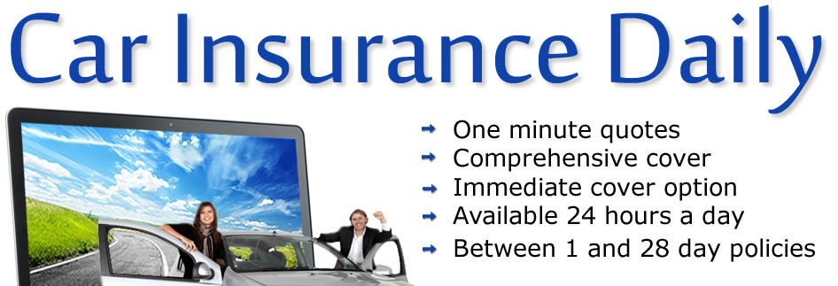 Get Cheap Daily Car Insurance Cover with No Deposit No Credit Check