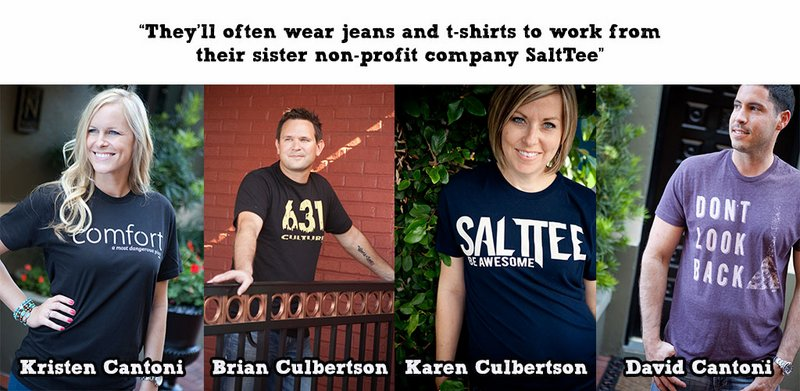Agency Founders Brian and Karen Culbertson and Kristen and David Cantoni