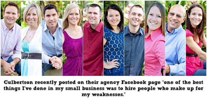 Culbertson Agency Team as of September 2013