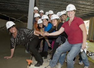 Sandra Cleary, President of CruCon and her key  management team make their mark