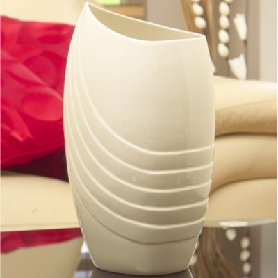 Belleek Living Chic 12 Inch Vase Irish Pottery Belleek Vase 12