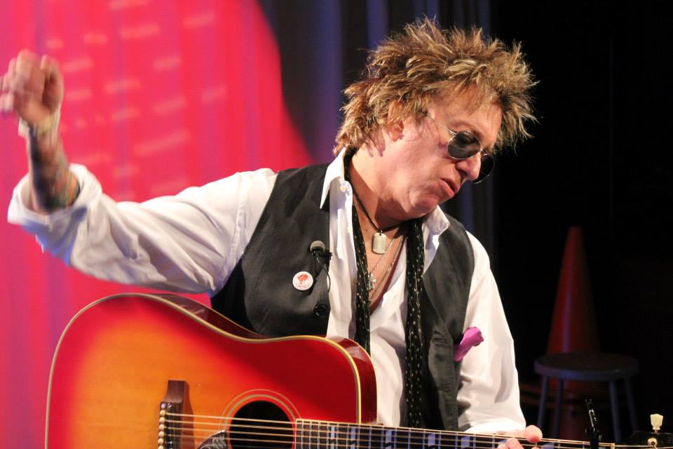 Ricky Byrd - Performing Acoustic on the GNY TV Show