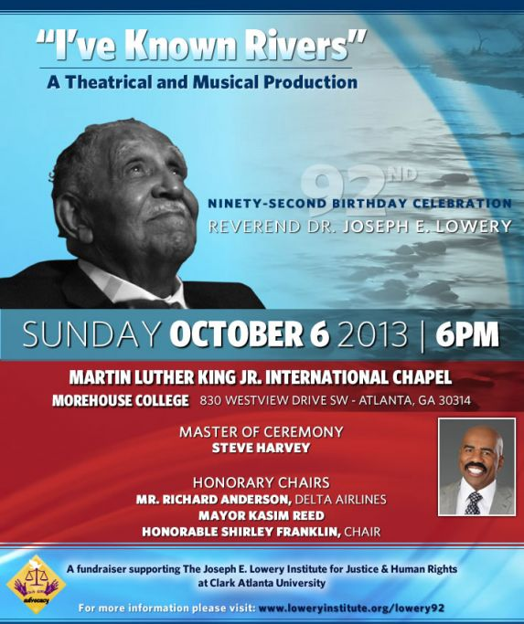 Dr. Lowery Celebration Invitiation