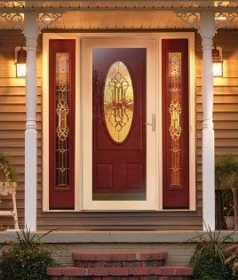"Your entry door is the focal point of your home...the right door says, ""Welcome"""