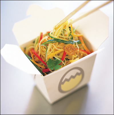 business report green noodles
