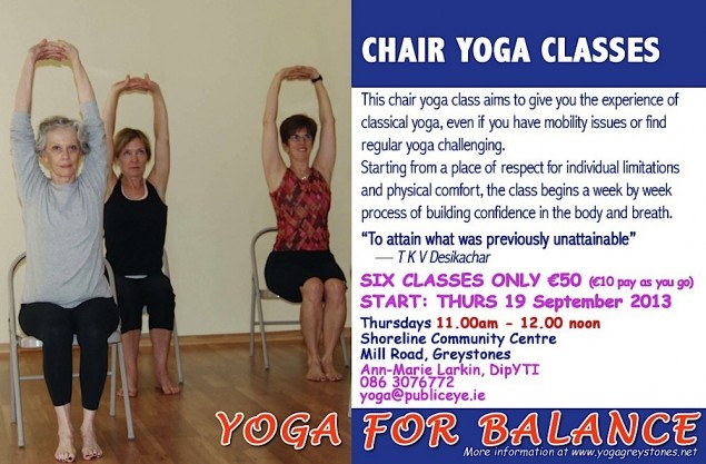 Chair Yoga Flyer
