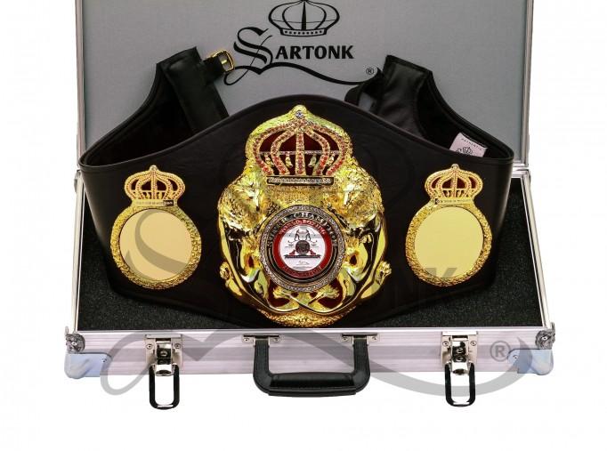 All new WBA Super Champion Belt by SARTONK