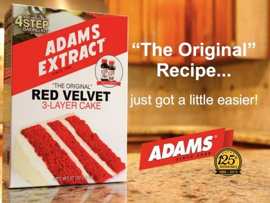ADAMS Red Velvet Cake Kit