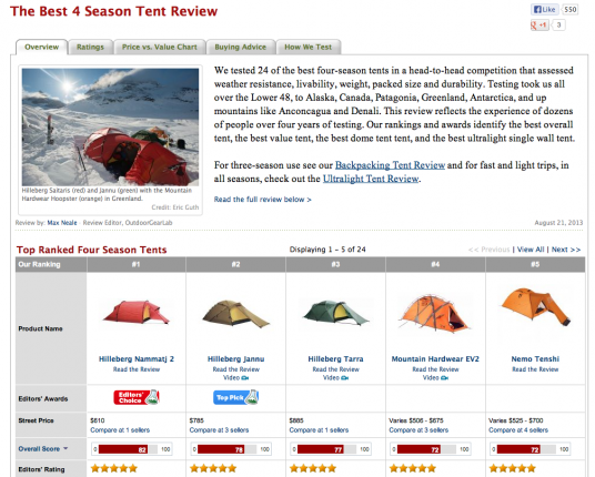 Screen Shot 2013-09-13 at 3.32.24 PM  sc 1 st  PRLog & The Best Four Season Tent Honors for 3013 Announced By ...