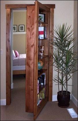 Customer Built Flush Mount Door 9 & Murphy Door Inc. Releases NEW Flush Mount Hidden Door Hardware and ...