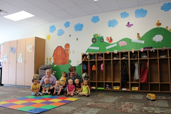 Classroom Ideas For 1 Year Olds ~ Wall stickers are the perfect solution for decorating