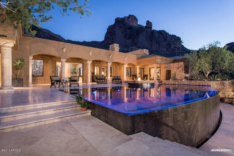 Paradise valley cheney estates foreclsoures homes for for Mansions for sale in scottsdale az