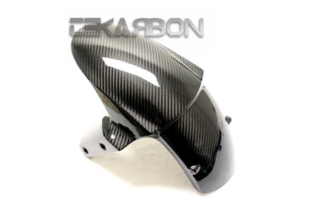 Kawasaki Z800 13 Carbon Fiber Front Fender Twill Weaves by Tekarbon