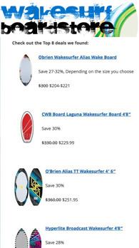 Wakesurf Boards on Sale: Top 8 Deals