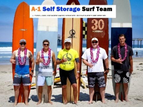 A-1 Self Storage Surf Team